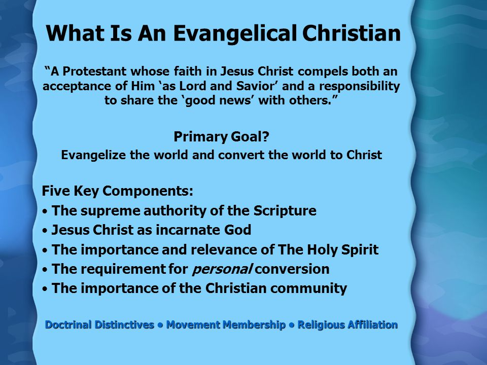 What Is A Fundamentalist Christian.