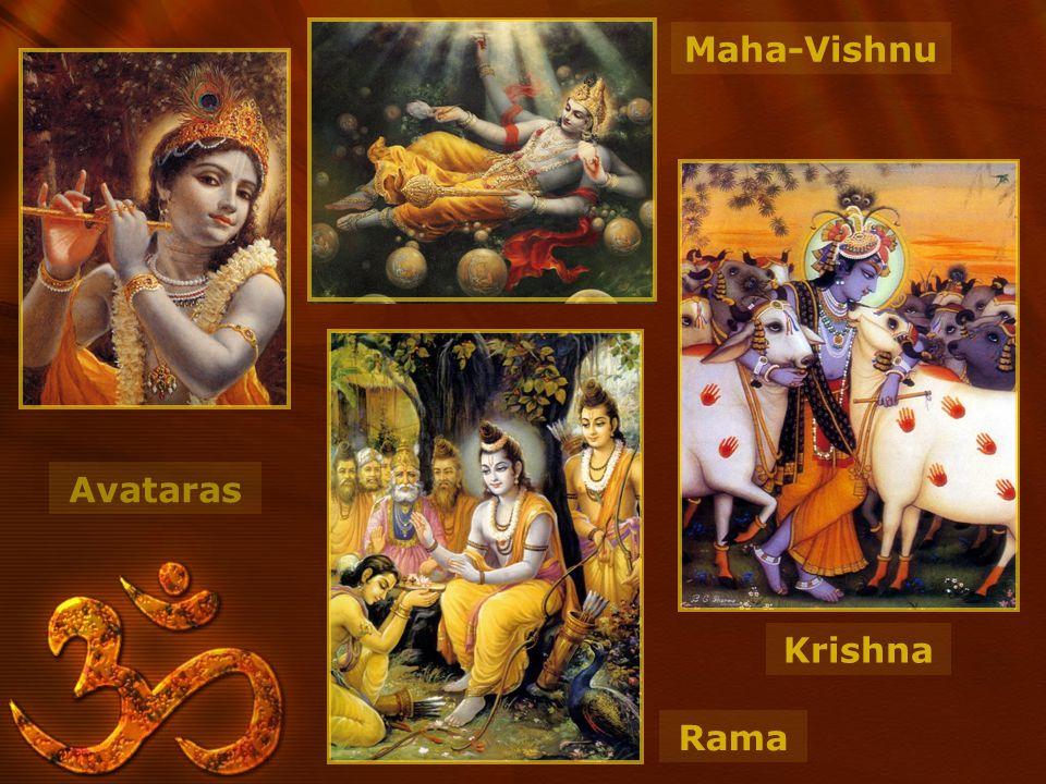 Avataras Krishna Maha-Vishnu Rama
