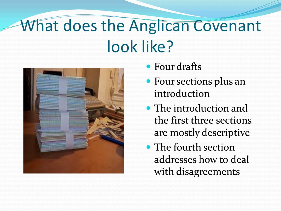 What does the Anglican Covenant look like.
