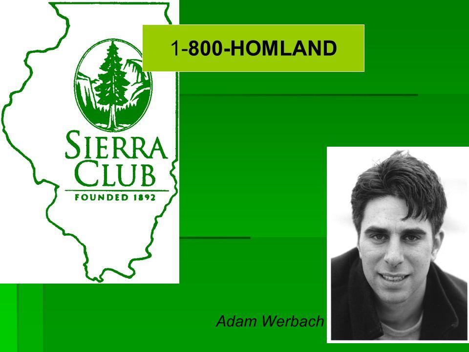 Adam Werbach 1-800-HOMLAND