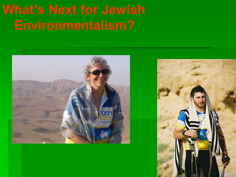 What's Next for Jewish Environmentalism