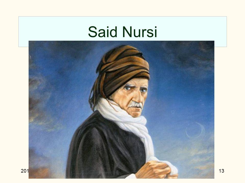 2010Rejecting materialism13 Said Nursi