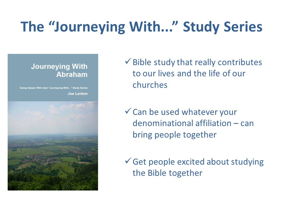 Journeying With Abraham Are you looking for a fresh way of interacting with the Bible?...