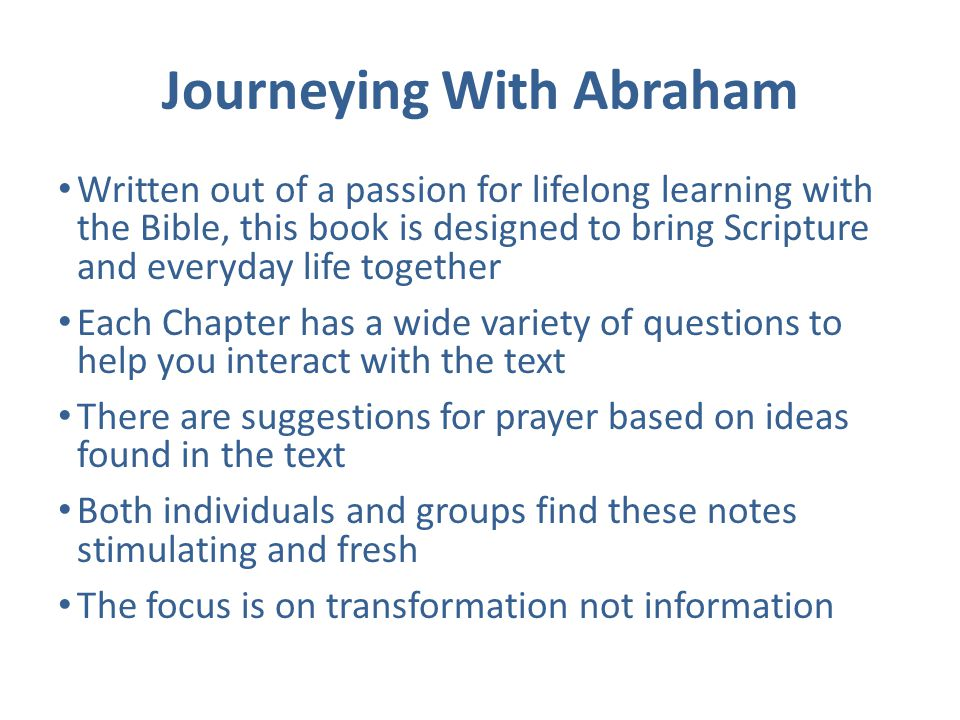 The Journeying With... Study Series Can be used many times with different results Enriches prayer Suitable for a wide range of personality types