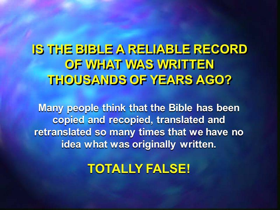 THE OLD TESTAMENT: LITERALLY TRUE.Jesus took the Old Testament literally.