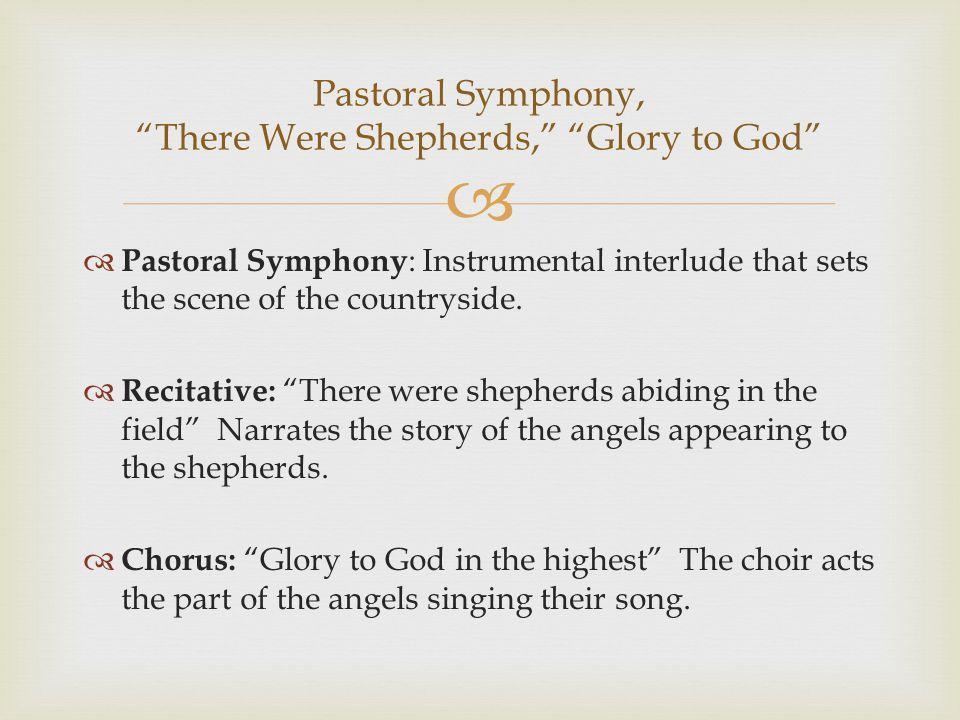   https://www.youtube.com/watch?v=MJjNpMEbjjw https://www.youtube.com/watch?v=MJjNpMEbjjw  What is the tempo and affect of the Pastoral Symphony.