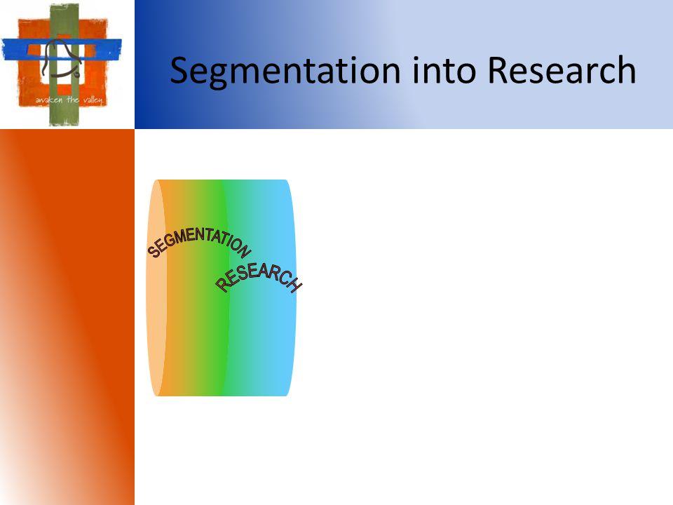 Segmentation into Research