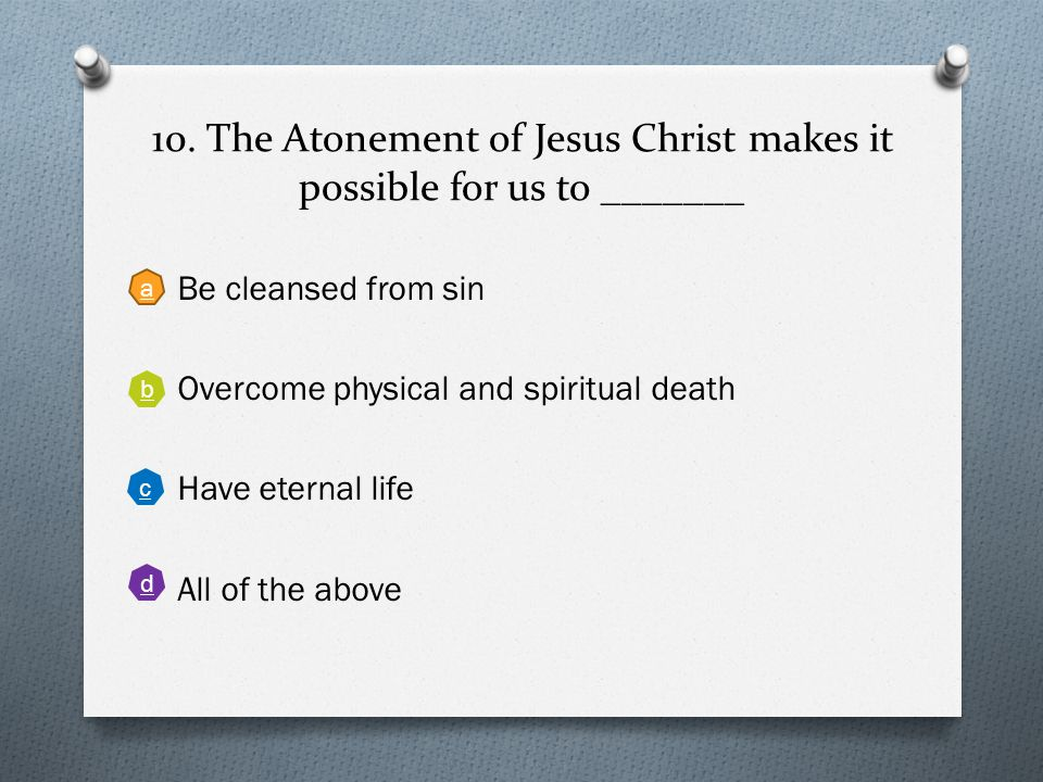 9. Which of the following is not taught in the Doctrine and Covenants about missionary work Back