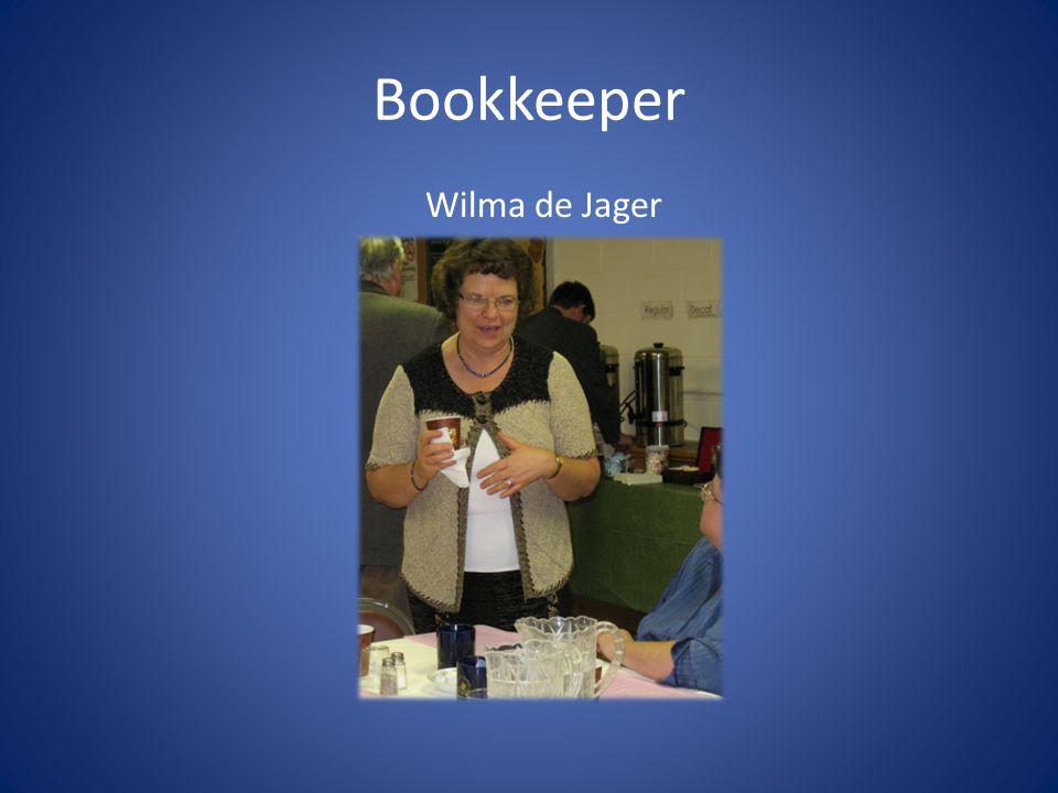 Bookkeeper Wilma de Jager
