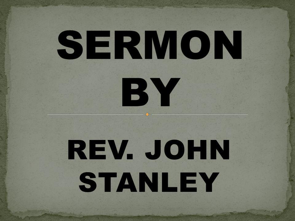 REV. JOHN STANLEY