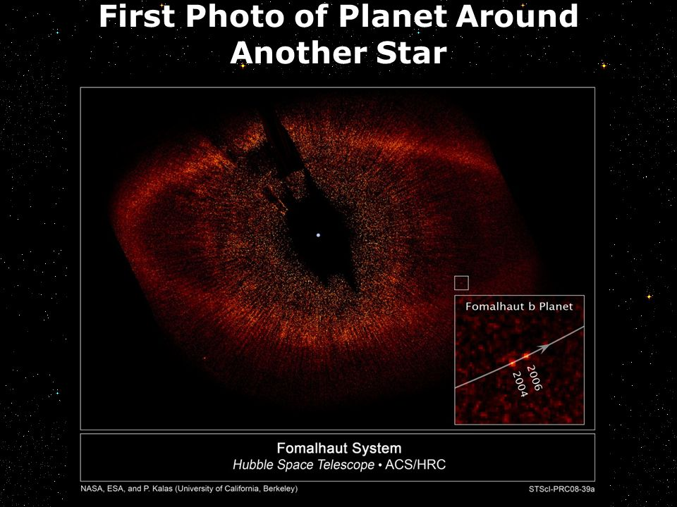 First Photo of Planet Around Another Star