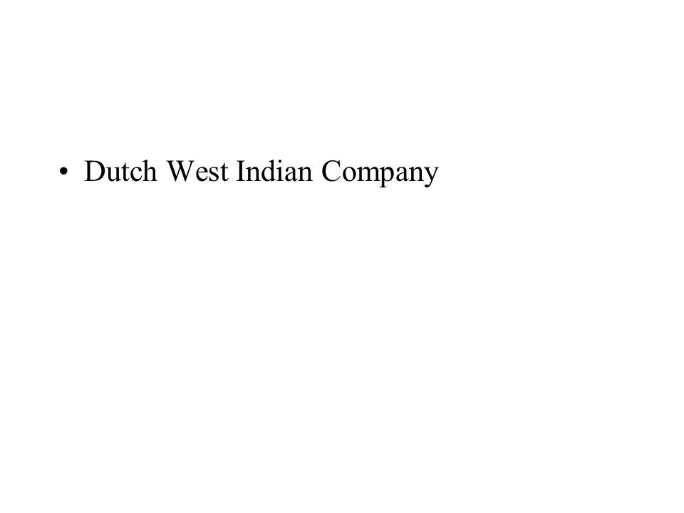 Dutch West Indian Company