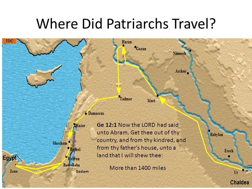 Who Are the Patriarchs? 8