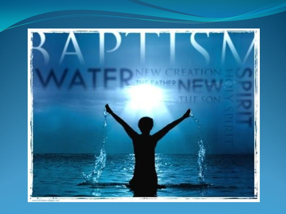 Who? What? Where? Water Baptism is a public testimony - the outward confession of an inward experience. In baptism, we stand before witnesses confessi