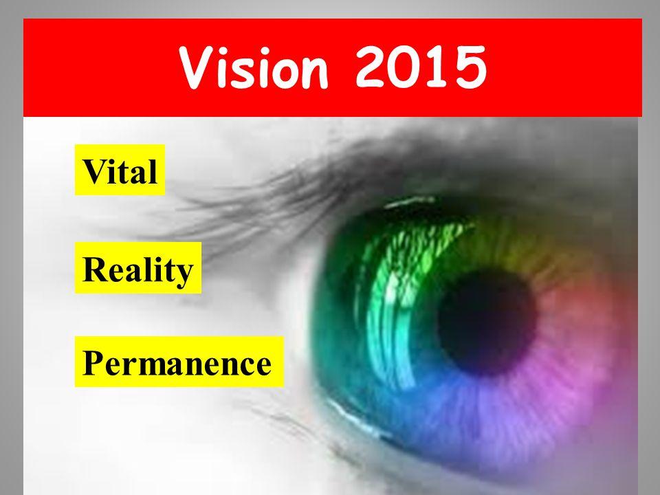 Vision 2015 Vital Reality Permanence