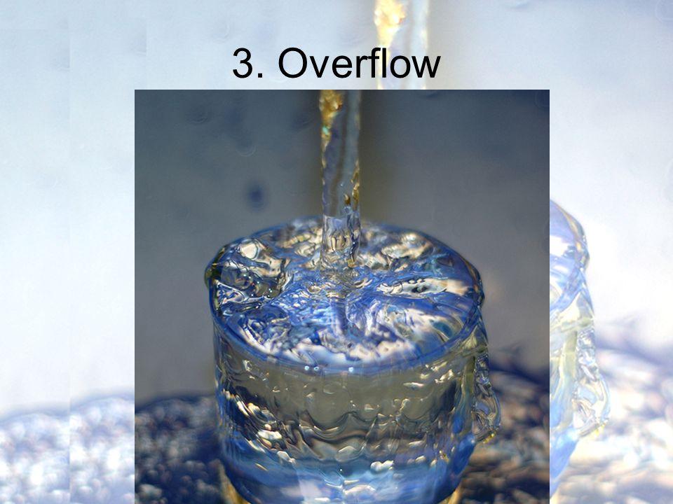 3. Overflow