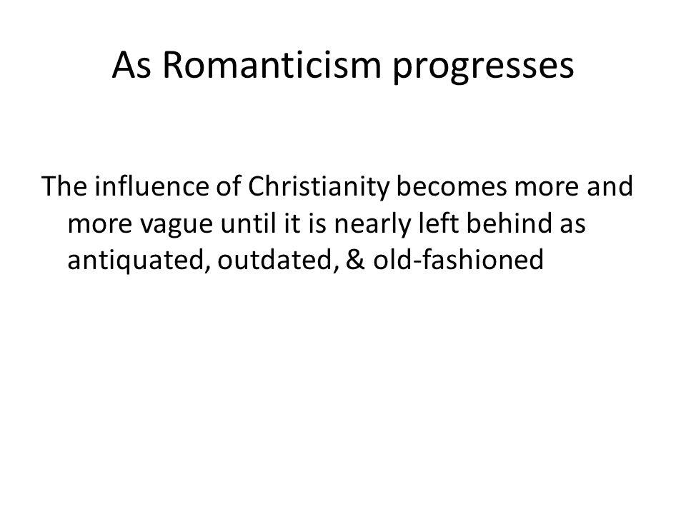 Romanticism The exaltation of Nature