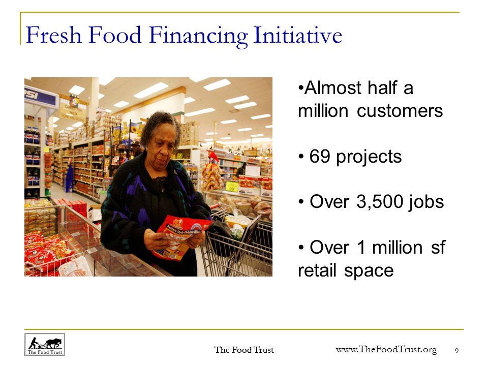 www.TheFoodTrust.org Philadelphia - Areas of Greatest Need