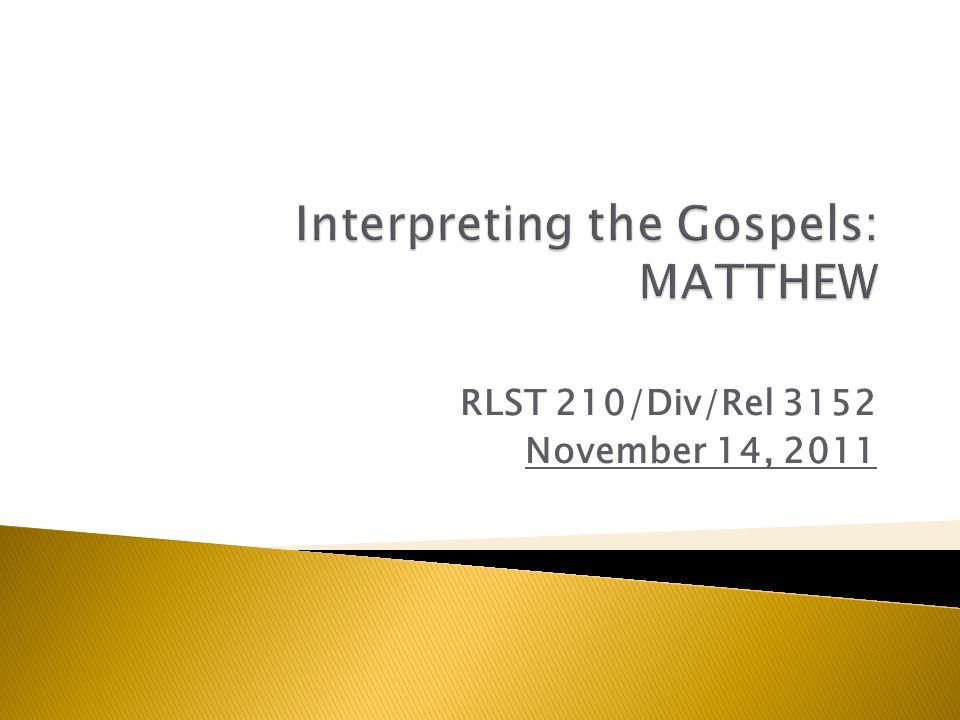 RLST 210/Div/Rel 3152 November 14, 2011