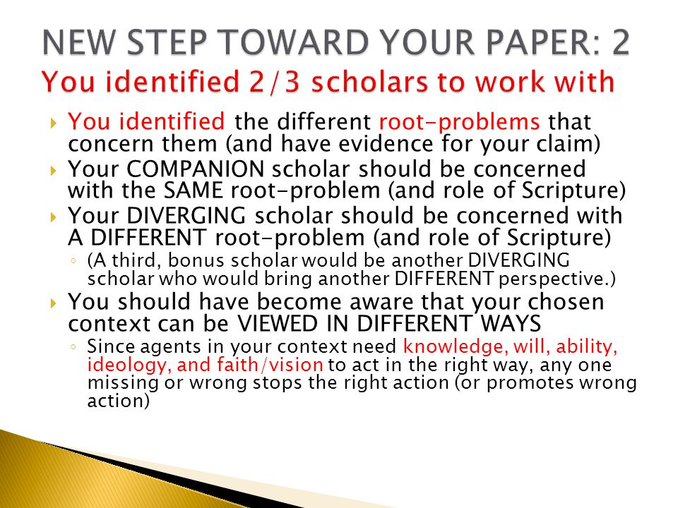 we began to discuss the identification of the different views of your chosen THEME  Making sure that the view of the THEME you chose is grounded into/explained in terms of your texts from Matthew  To compare YOUR VIEW of this theme with your COMPANION scholar's view and your DIVERGING scholar's (or scholars') views of this same theme.