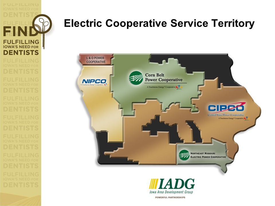 Electric Cooperative Service Territory