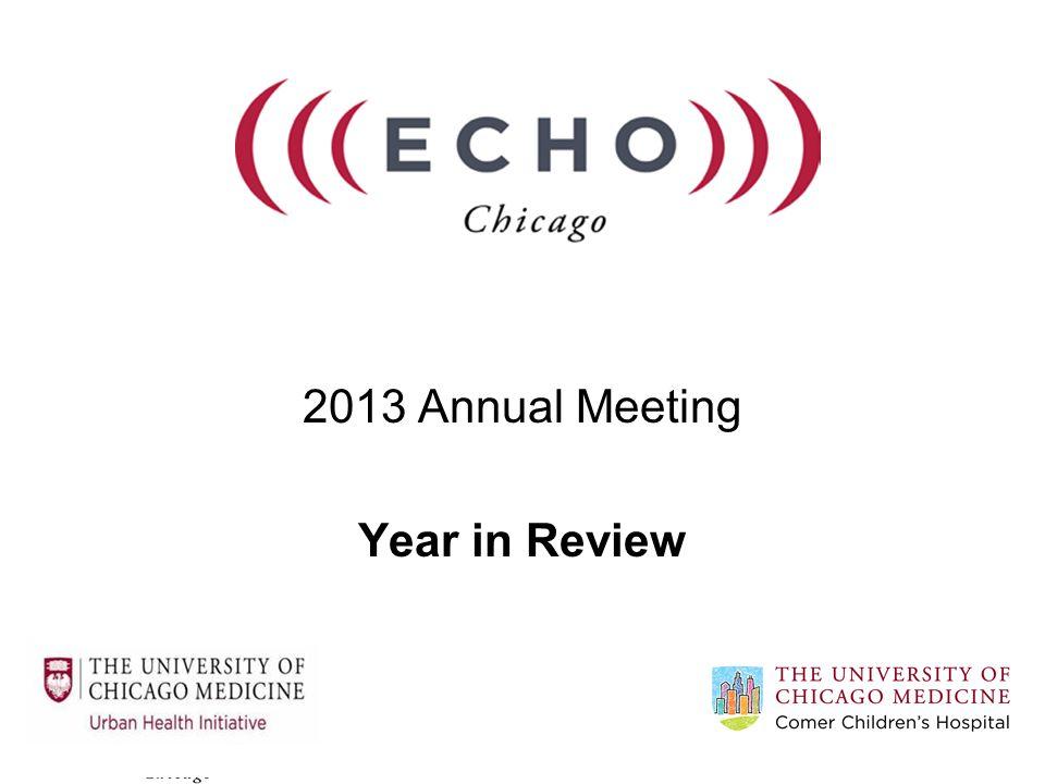 Why ECHO-Chicago.