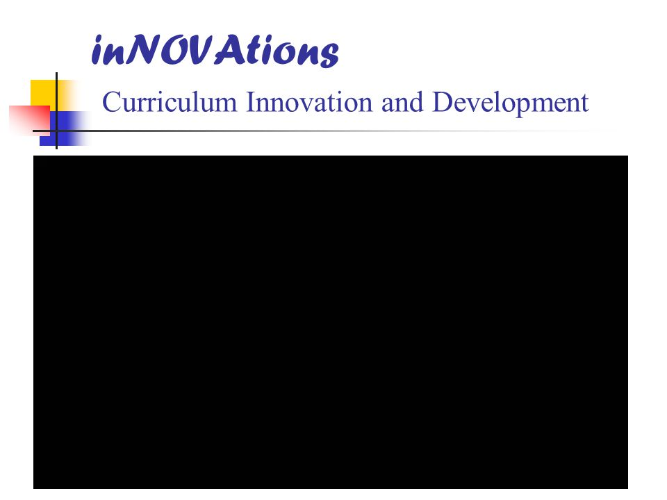 inNOVAtions Curriculum Innovation and Development