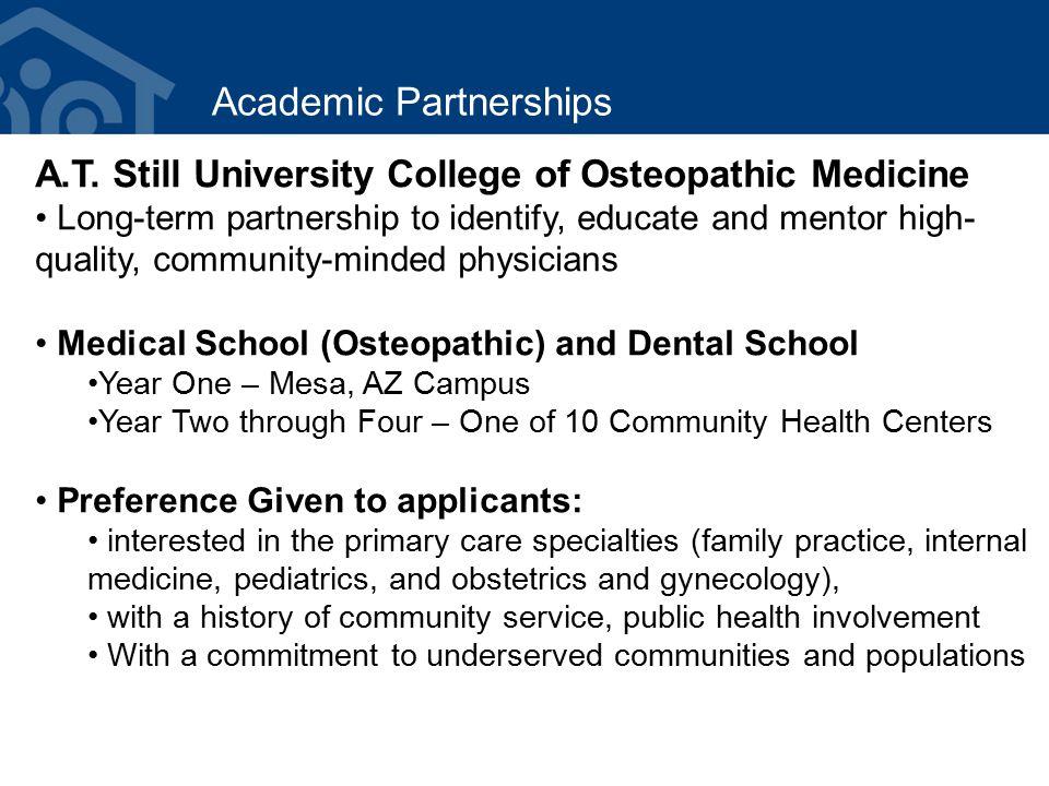 Academic Partnerships A.T.