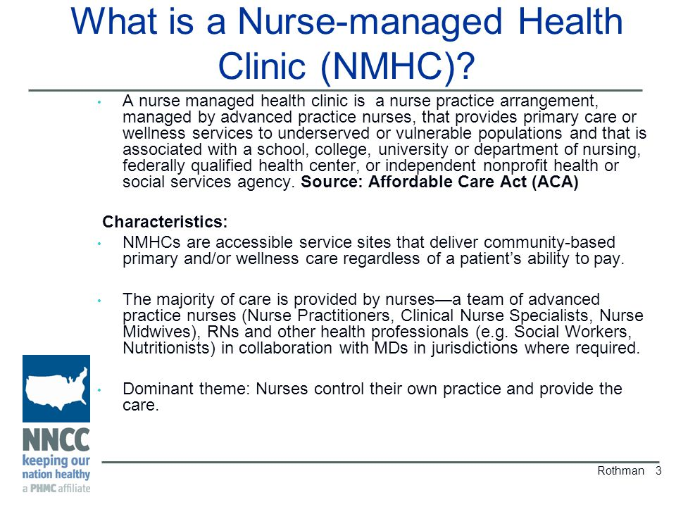 What is a Nurse-managed Health Clinic (NMHC).