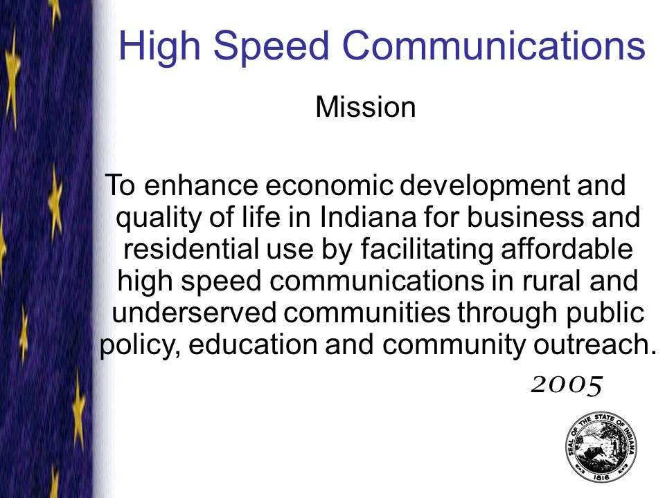 Introduction to Broadband What is broadband communications and why is it important to your community.