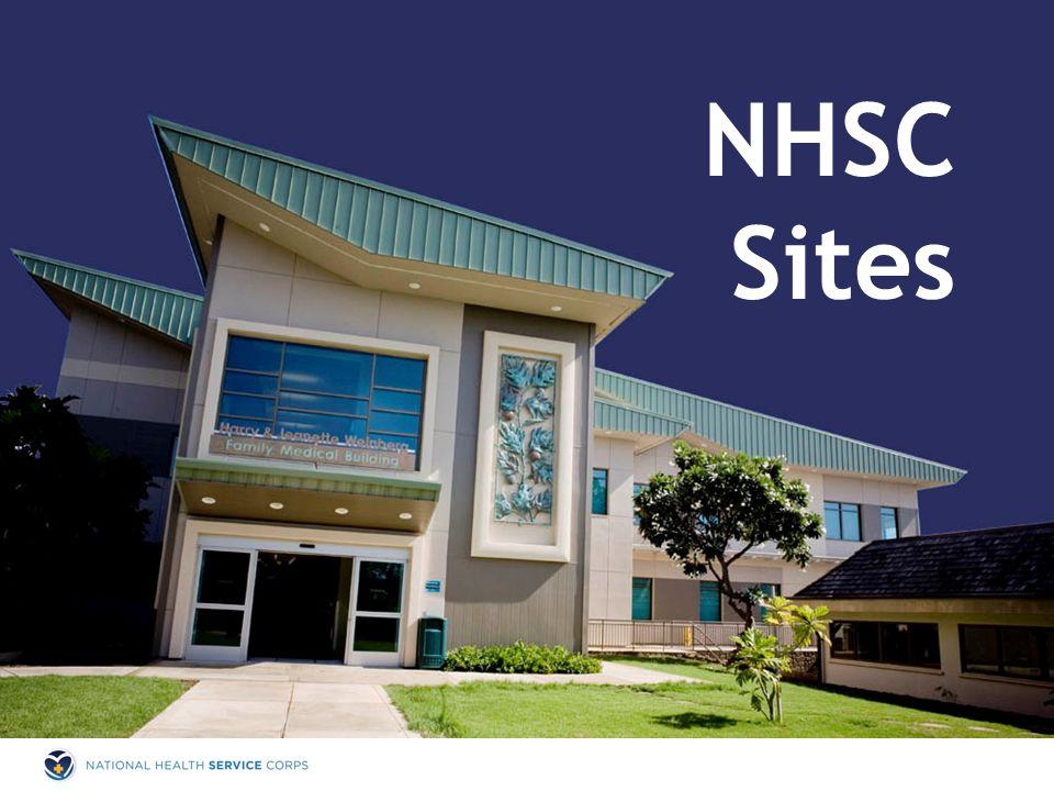 NHSC Sites