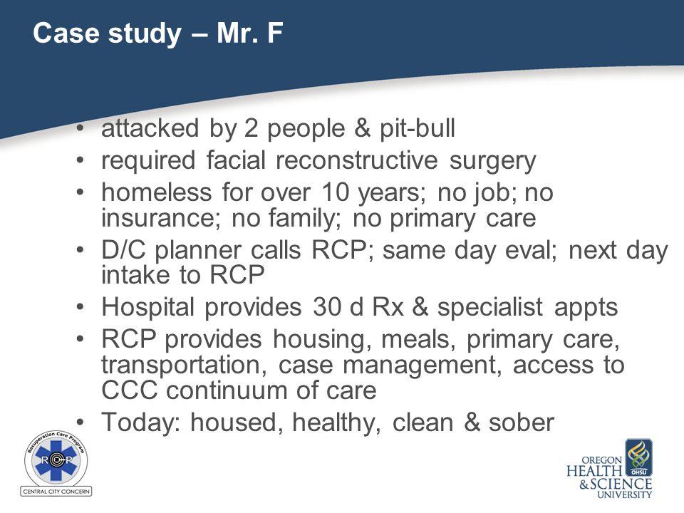 Case study – Mr.