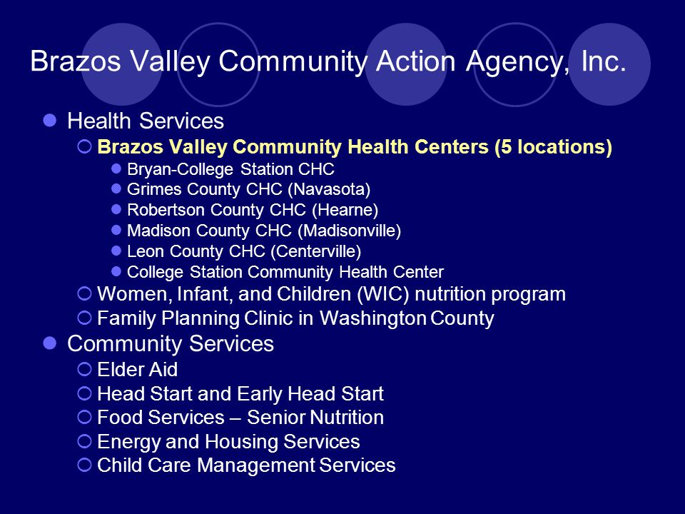 Brazos Valley Community Action Agency, Inc.