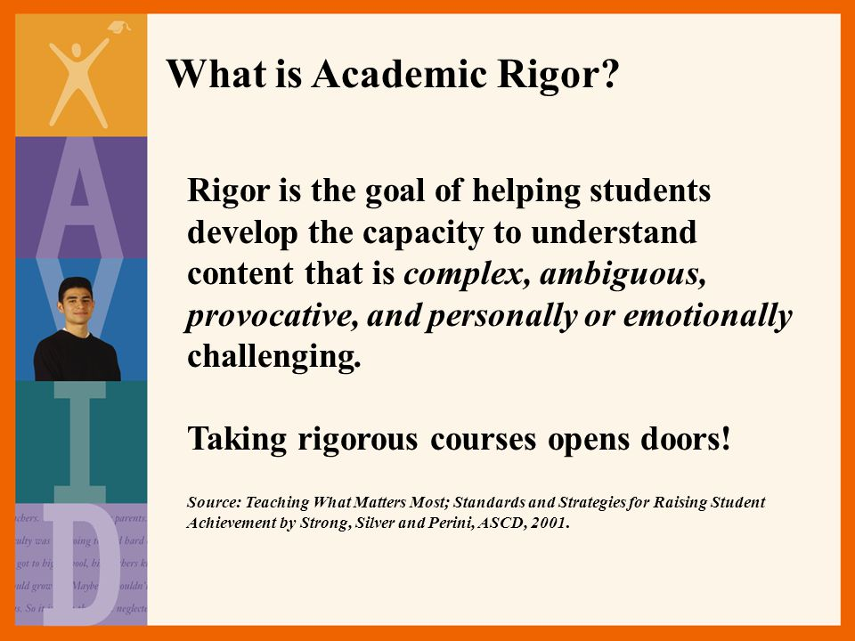 What is Academic Rigor.