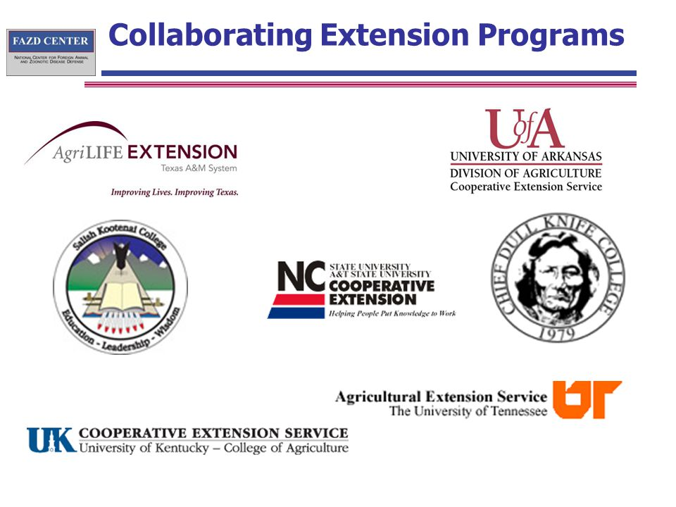 Collaborating Extension Programs