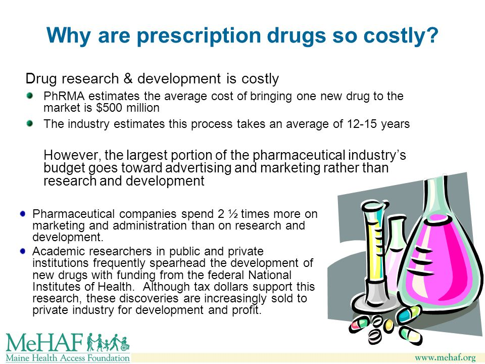 Why are prescription drugs so costly.