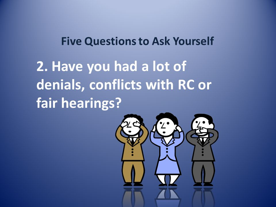 Five Questions to Ask Yourself 2.