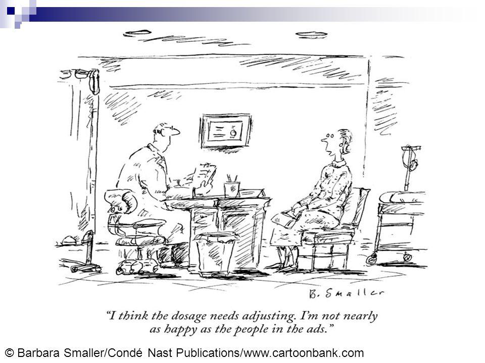 © Barbara Smaller/Condé Nast Publications/www.cartoonbank.com