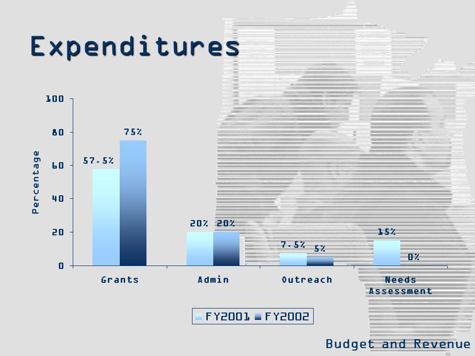 Expenditures Budget and Revenue