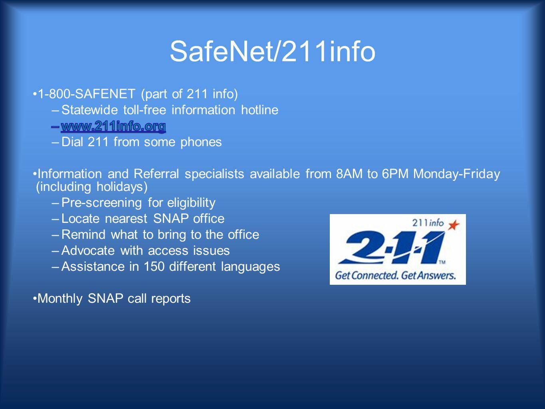 SafeNet/211info