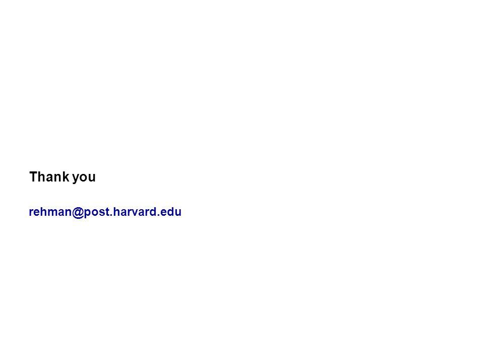 Thank you rehman@post.harvard.edu