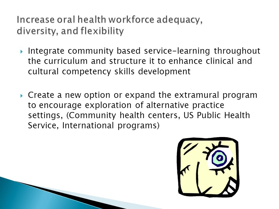  Integrate community based service-learning throughout the curriculum and structure it to enhance clinical and cultural competency skills development