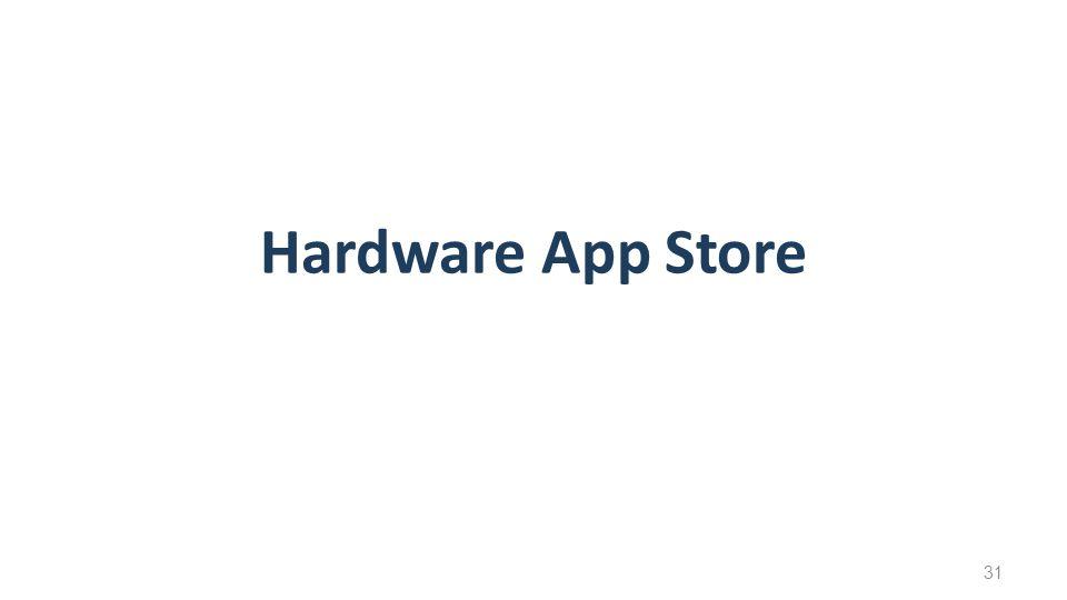 Hardware App Store 31