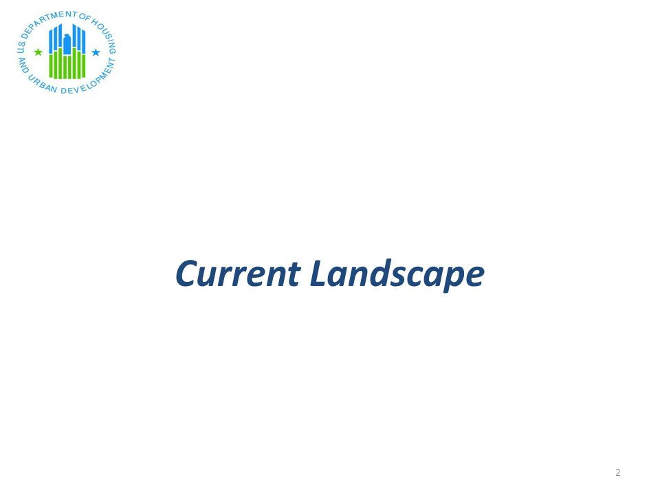 Current Landscape 2