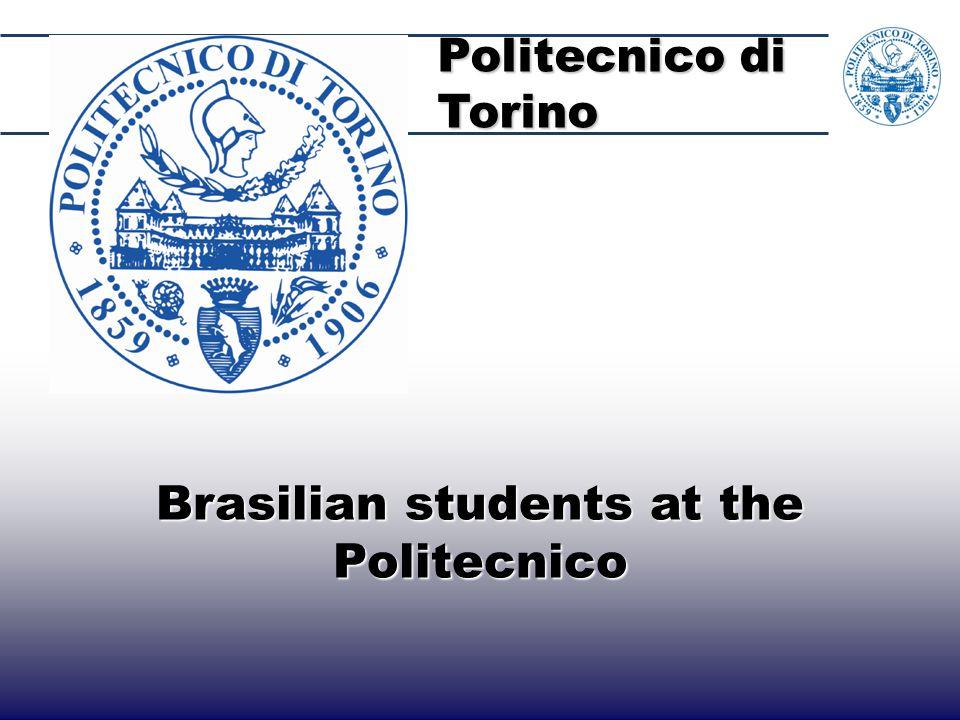 40 Brasilian students at the Politecnico Politecnico di Torino