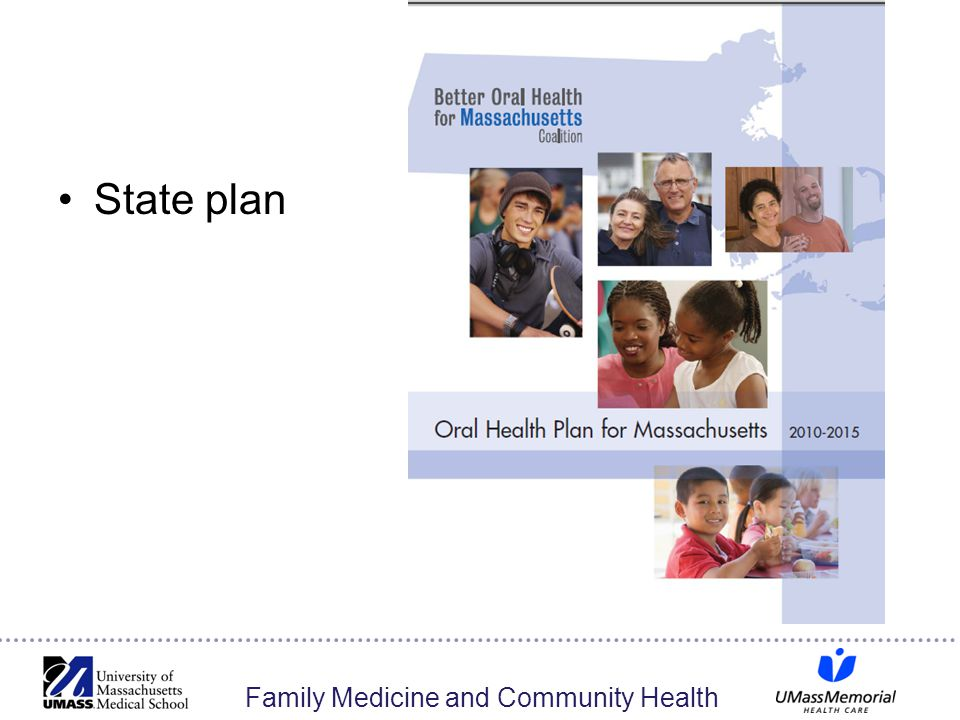 Family Medicine and Community Health State plan