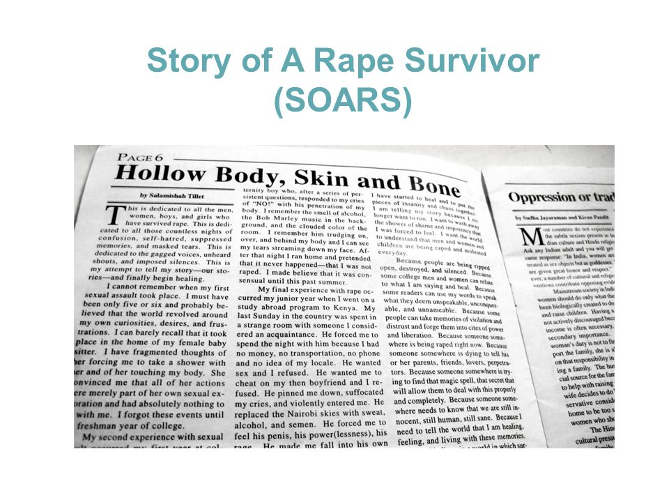 Story of A Rape Survivor (SOARS)