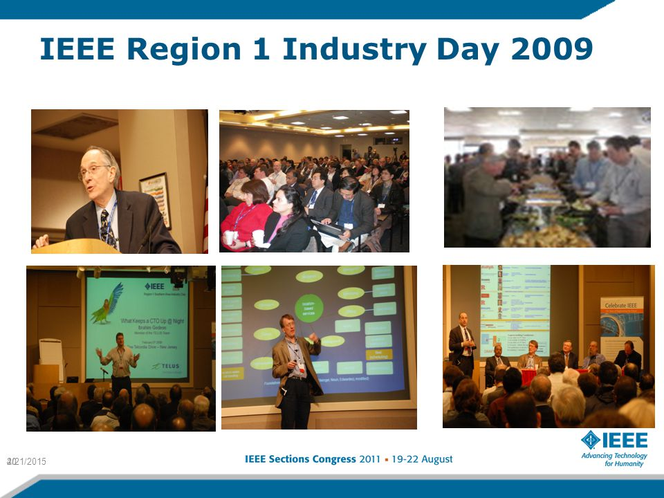IEEE Region 1 Industry Day 2009 4/21/201520