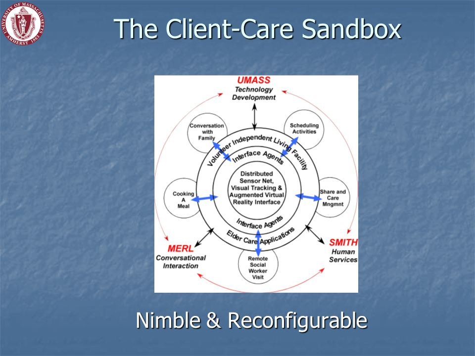 The Client-Care Sandbox Nimble & Reconfigurable