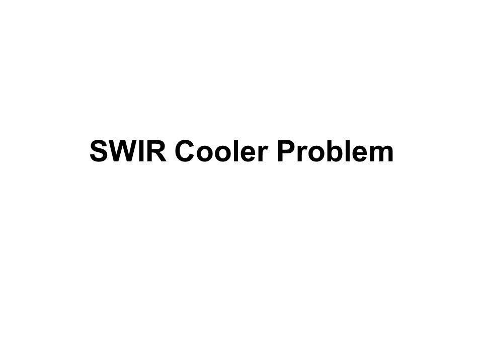 SWIR Cooler Problem